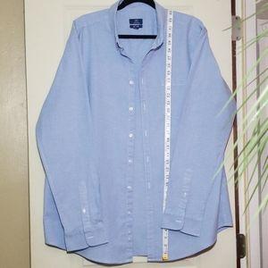 Mens long sleeve button down shirt